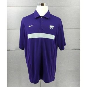 Kansas K-State Wildcats Nike Dri-Fit polo Men's XL